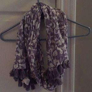 Jcrew purple scarf